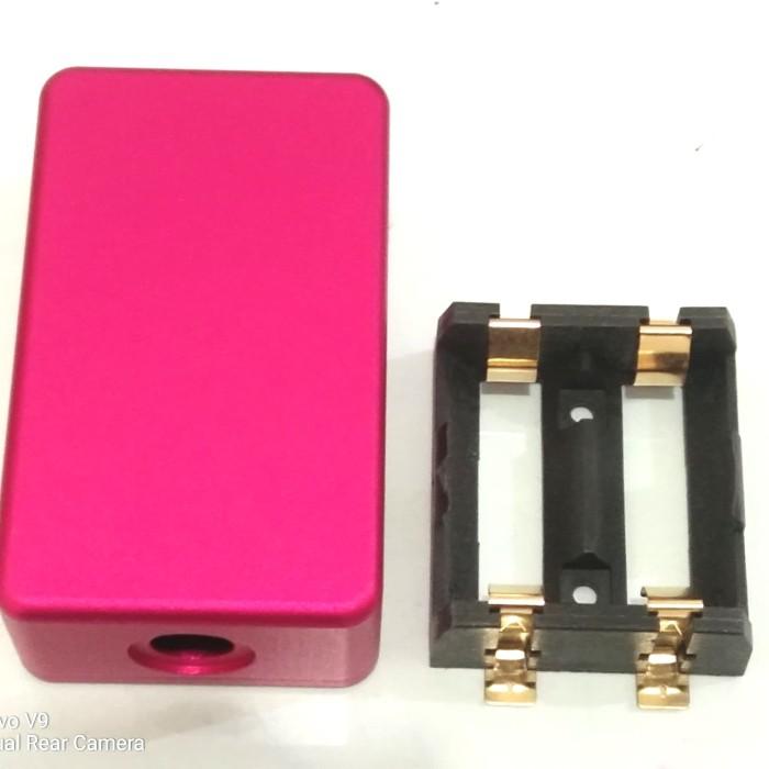 Foto Produk cnc box mini + holder 2x18350 - Biru dari versus box mod supply
