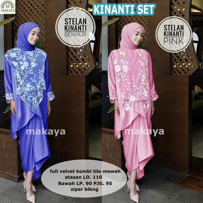 Jual Kinanti Set Baju Setelan Wanita Muslim Gaul Masa Kini Kota Surakarta Vivien Collection Tokopedia