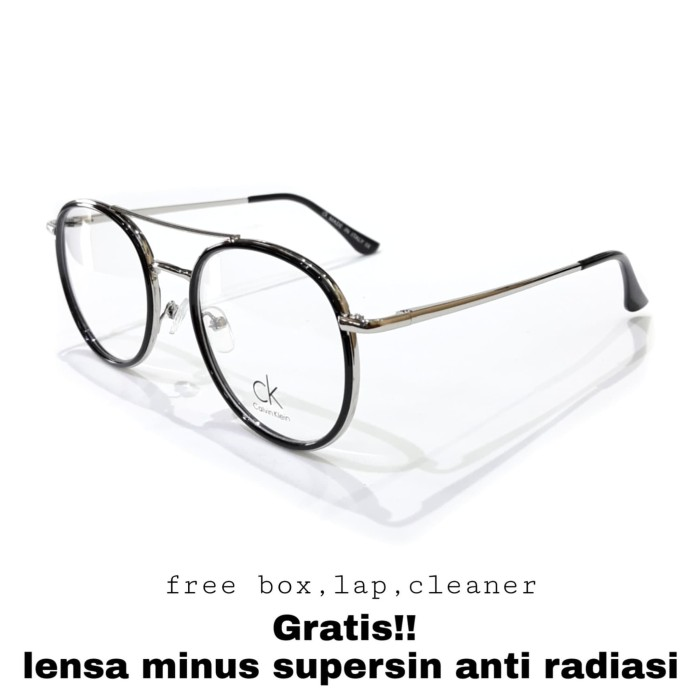 Foto Produk kacamata minus frame ck titanium premium lensa anti radiasi komputer dari OPTIK AGUS FASET