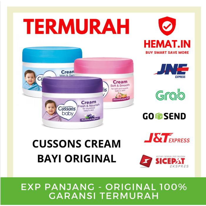 Foto Produk Cussons Baby Cream 50GR / Krim Bayi ORIGINAL CUSSONS PREMIUM - Biru dari Hemat Indonesia