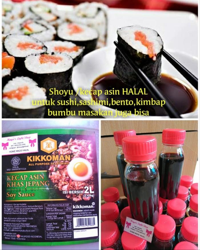 Jual Enak Harga Khusus Shoyu Soy Sauce Kecap Asin Sushi Halal Mui
