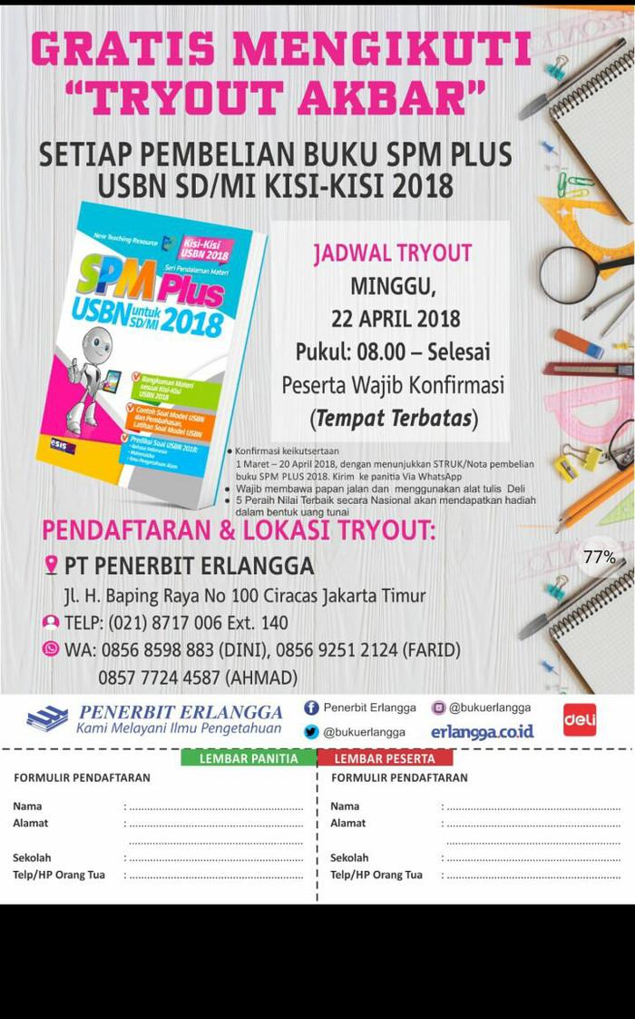 Jual Promo Buku Un Sd Spm Plus Untuk Sd Us M Sd Mi 2018 Jakarta Selatan Jarwa Sihombing Tokopedia