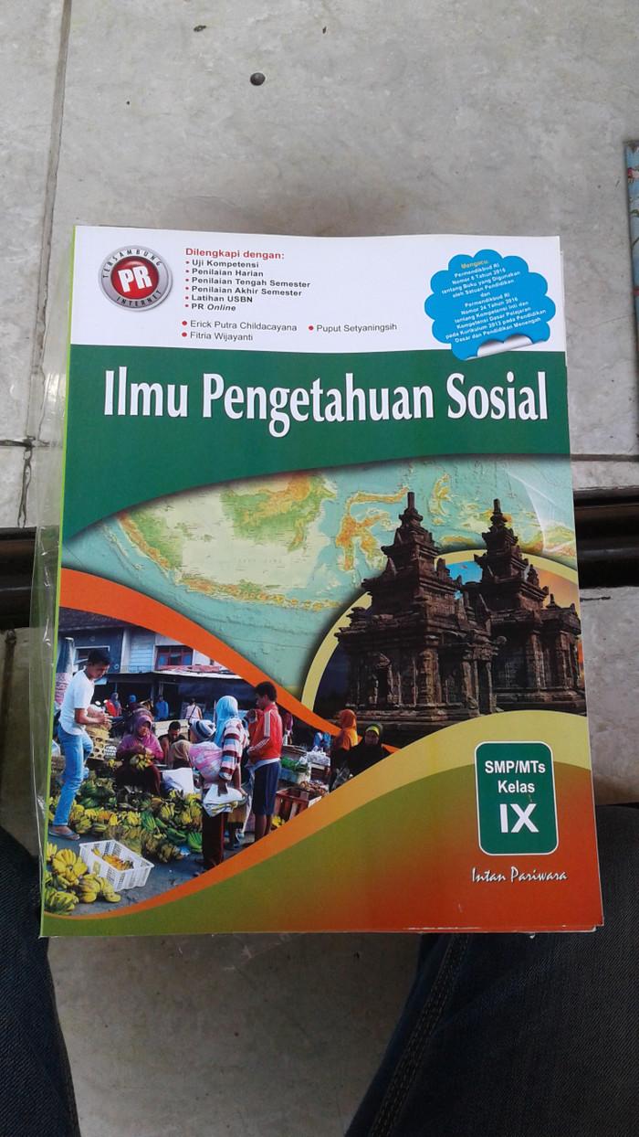 Jual Buku Smp Kelas 3 Lks Pr Ips 9 Intan Pariwara Jakarta Timur Rahmi Budianto Tokopedia