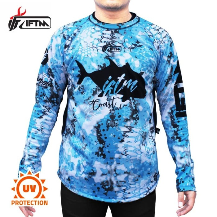 Foto Produk IFTM COAST GUARD - UV Protection | Jersey kaos mancing gaint trevally - L dari IFT Merchandise
