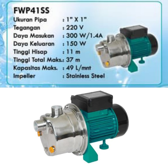 Jual Pompa Air Stainles Firman FWP-41SS Pompa Stainless ...