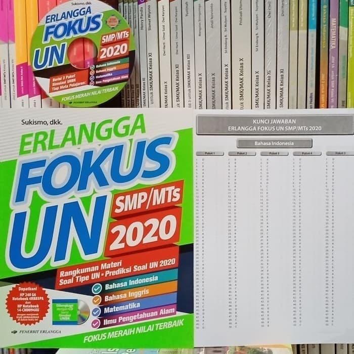 Jual Erlangga Fokus Un Smp Mts 2020 Best Seller Kota Surakarta Ethes Bookstore Tokopedia