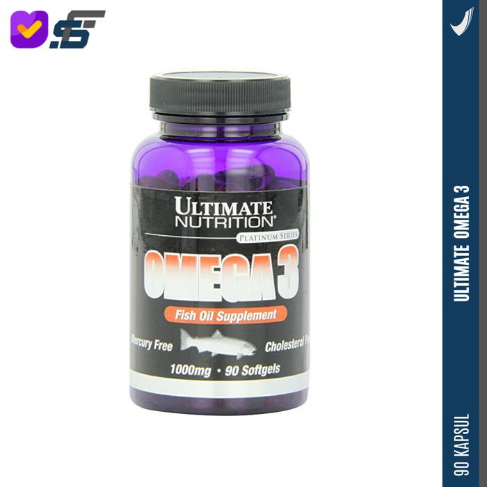 Foto Produk Ultimate Nutrition Ultimate Omega-3 90SG dari suplemenfactory