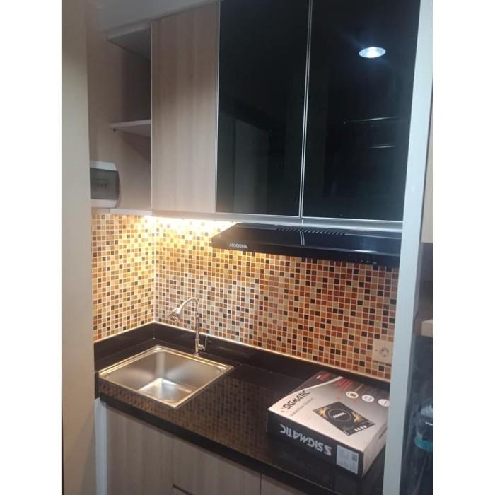 Jual Kitchen Set Material Plywood Finishing Hpl Top Table Granit Kota Tangerang Selatan Skala Design Build Tokopedia