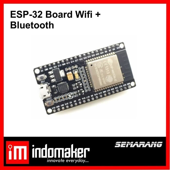 Foto Produk [E7] - ESP32 esp-32 Wireless Wifi Bluetooth ESP8266 Arduino WROOM-32 dari indomaker