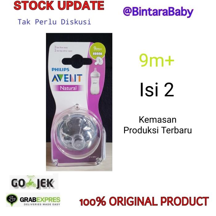 Foto Produk Avent Natural Nipple 9m+ dari Bintara Baby