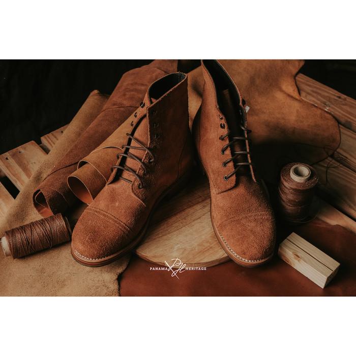 Foto Produk Service Boots - Roughout - Brown, 39 dari panamaheritage