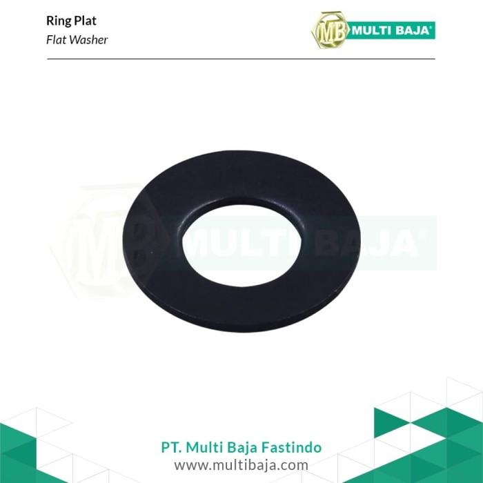 Foto Produk Baja Ring Plat M30 (Hitam) dari Multi Baja Fastindo