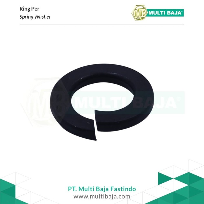 """Foto Produk Baja Ring Per 1 - 1/4"""" (Hitam) dari Multi Baja Fastindo"""