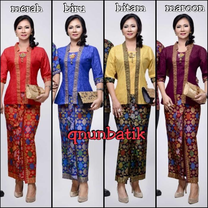 harga Rok n blus batik wanita jumbo xl marimar prodo Tokopedia.com