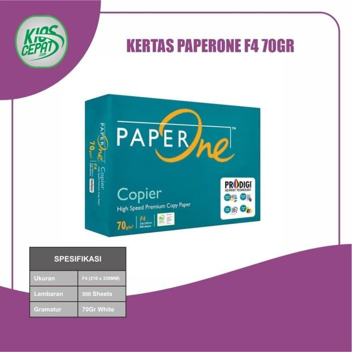 Foto Produk Kertas PaperOne F4 70gr (Kertas HVS) dari KiosCepat
