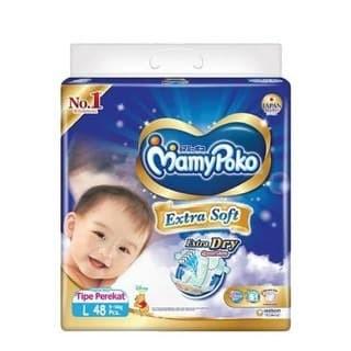 Foto Produk MamyPoko Popok Perekat Extra Soft Extra Dry L48 dari Sae-Store