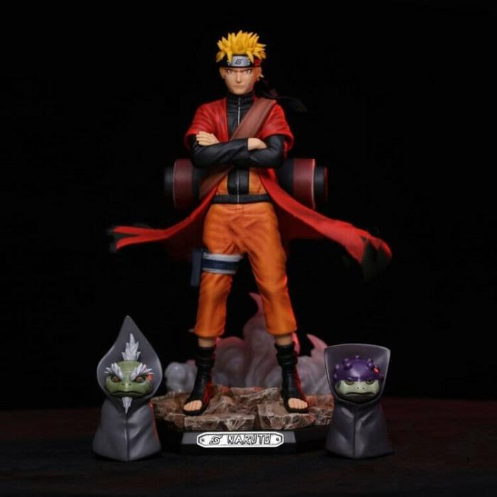 Jual Action Figure Pvc Uzumaki Naruto Sage Mode Naruto Shipudden