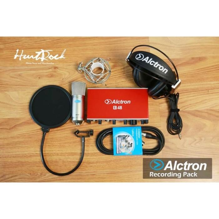 Foto Produk Alctron U48 Studio Recording Pack dari HurtRock Music Store