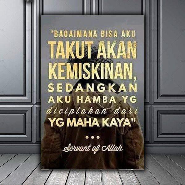 Jual Walldecor Frame Kata Kata Bijak Islami Kota Bekasi Mall Idaman Tokopedia