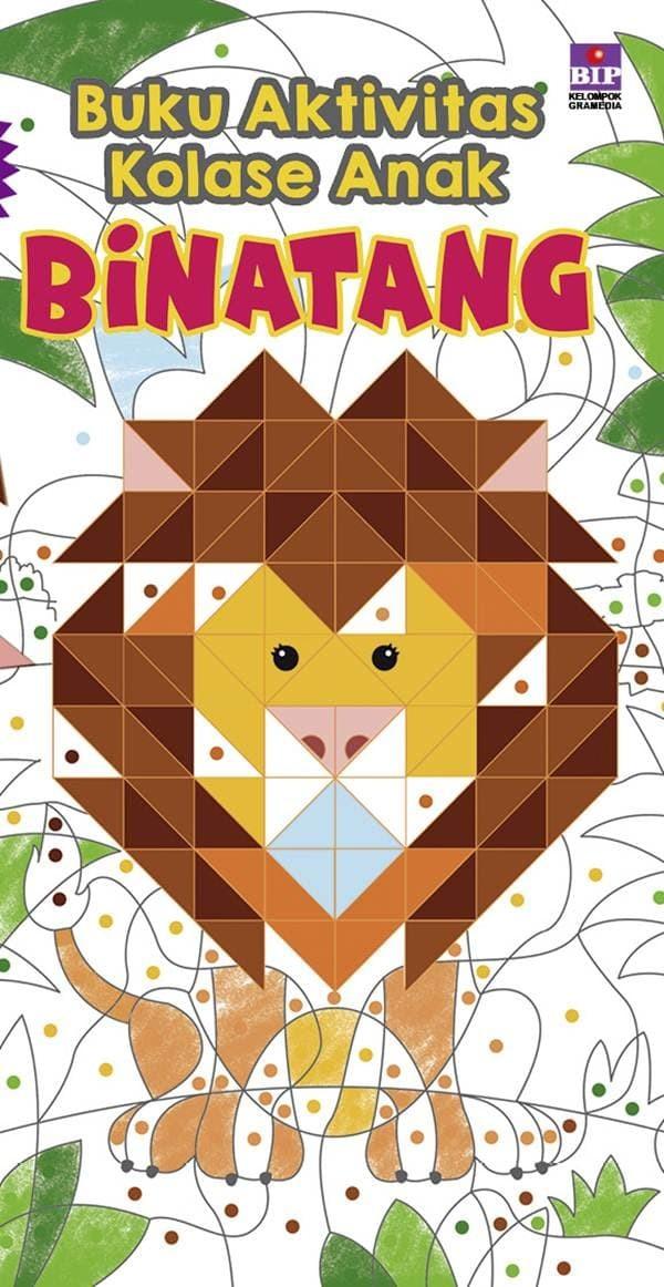 Jual Buku Termurahh Buku Aktivitas Kolase Anak Binatang Jakarta