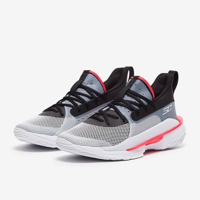 Jual Sepatu Basket Original Under Armour Curry 7 White 3021258100