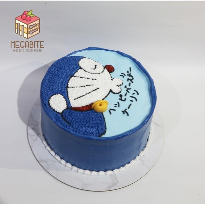 Jual Kue Ulang Tahun Doraemon Cake Enak Murah Lucu Jakarta Barat Megabite Tokopedia