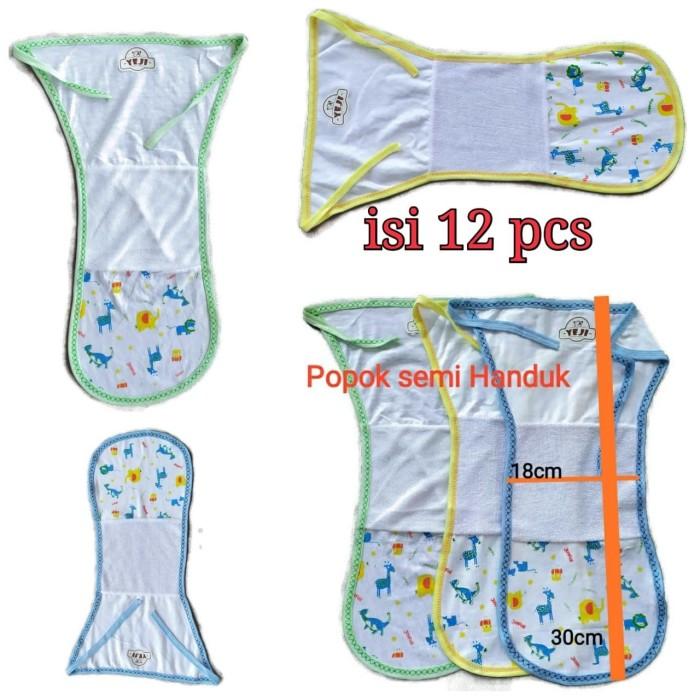 Foto Produk Popok Kain Tali Bayi 1 lusin Semi handuk Newborn dari agen handuk