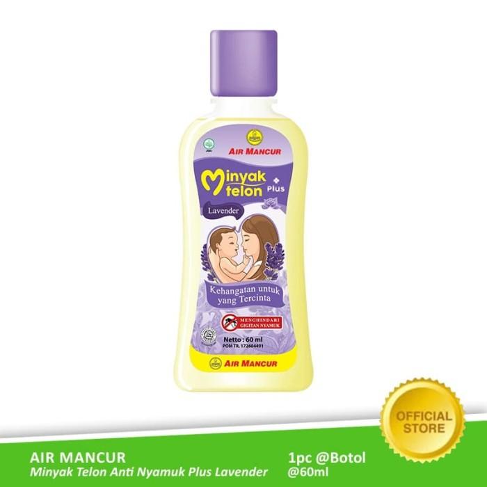 Foto Produk Buy 1 Get 1 - Air Mancur Minyak Telon Plus Lavender Botol 60 ml dari Air Mancur Official Shop