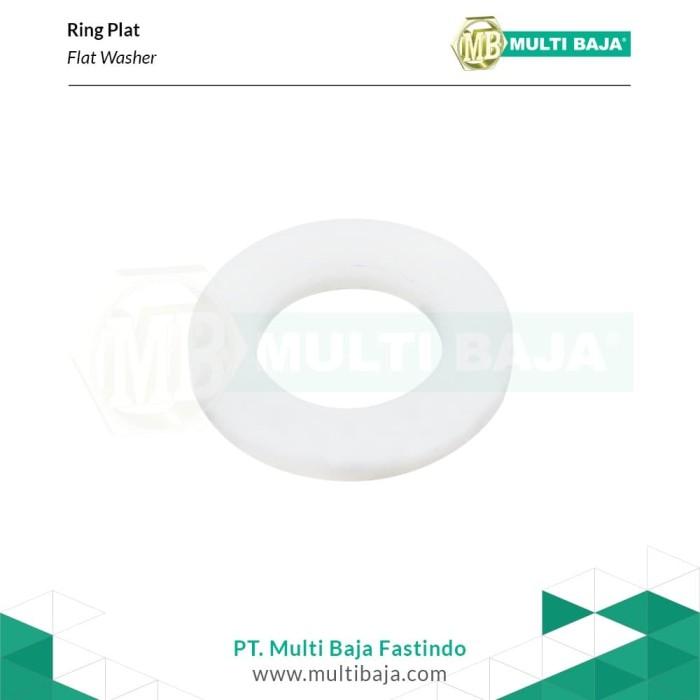 Foto Produk Nylon Ring Plat M4 dari Multi Baja Fastindo