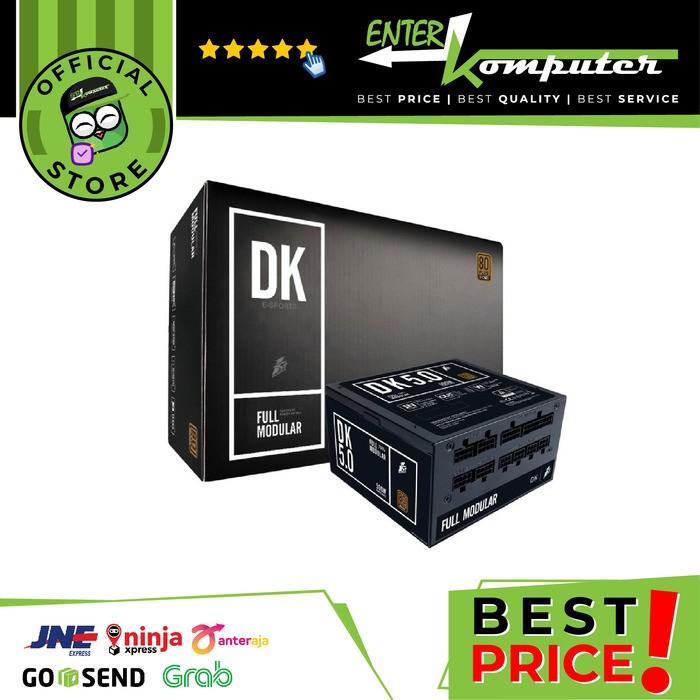 Foto Produk 1STPLAYER Gaming PSU DK5.0 500W Full Modular - PS-500AX(BM) (80Plus Br dari Enter Komputer Official