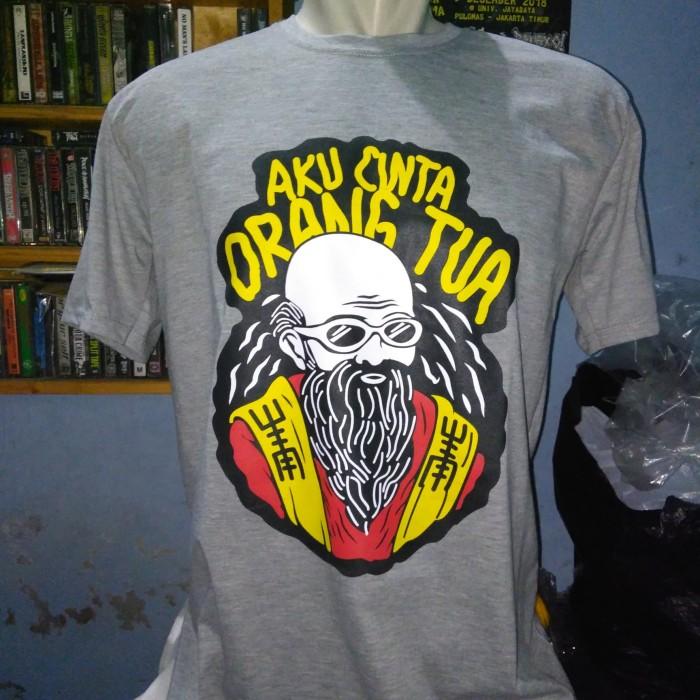 Jual Kaos Kata Aku Cinta Orang Tua Jakarta Pusat Ms Merchandise Tokopedia