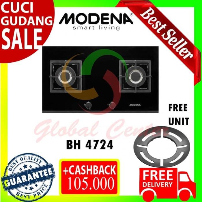 Jual Kompor Tanam Modena Built In Hob Gas 70 Cm 2 Tungku Bh 4724 Jakarta Barat Global Home Center Tokopedia