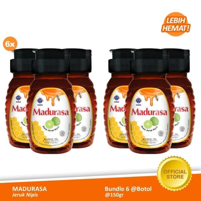 Foto Produk Beli 6 Madurasa Botol Jeruk Nipis 150 gr lebih hemat dari Air Mancur Official Shop