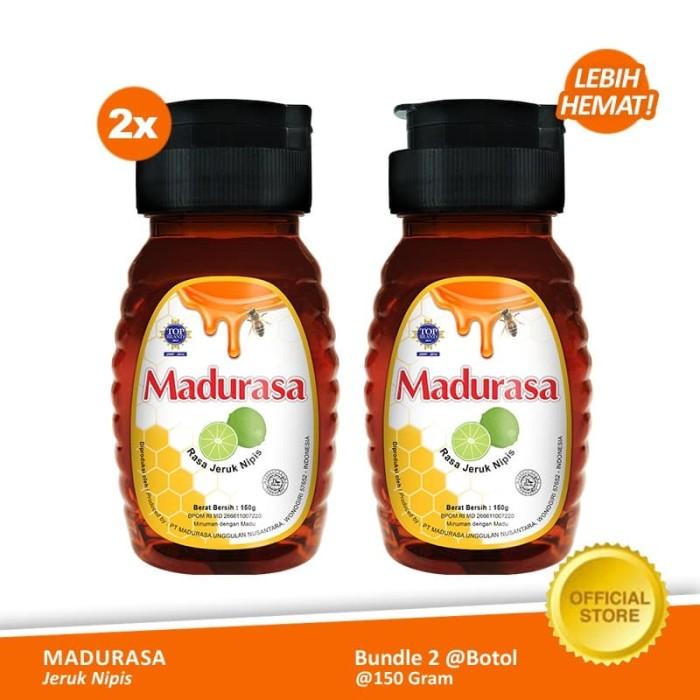 Foto Produk Beli 2 Madurasa Madu Jeruk Nipis 150gr lebih hemat dari Air Mancur Official Shop