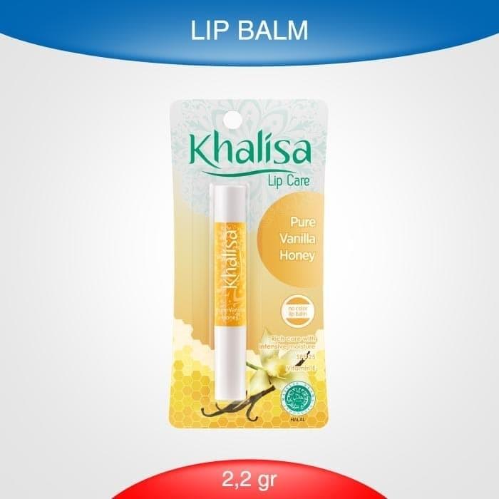 Foto Produk Khalisa Lip Balm Pure Vanilla Honey dari Rohto-Official-Store