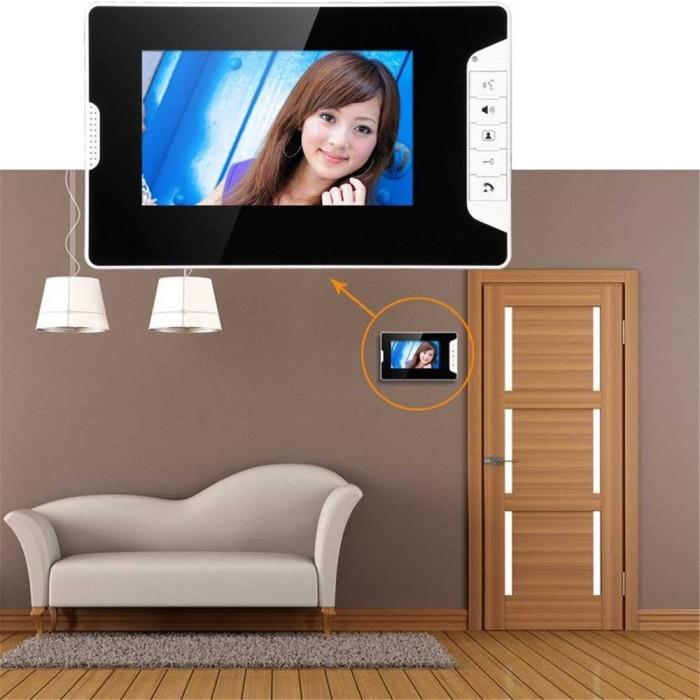 Foto Produk Bell Pintu Camera Intercom LCD Telephone Design dari CaesarCart