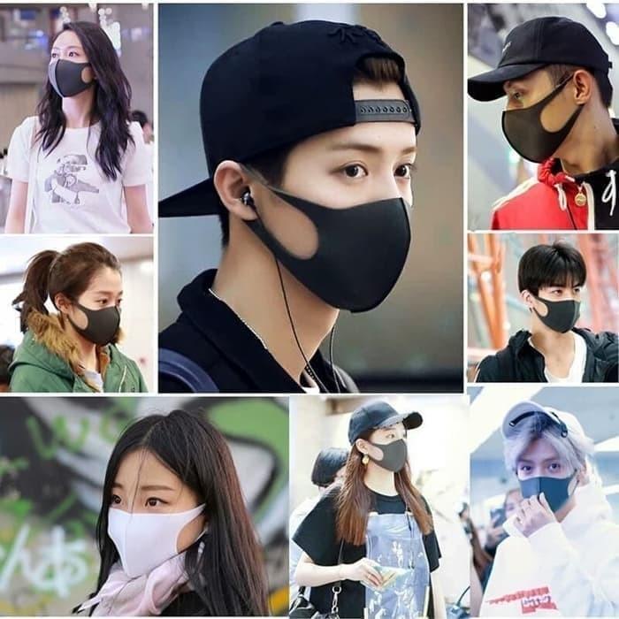 Foto Produk Masker Mulut Korea / Masker Debu / Masker Hidung / Masker Kain Murah - dari Stofer Shop