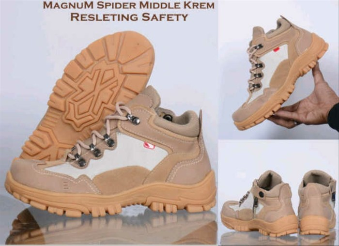 Jual Sepatu Hand Made Spider Middle Original Hand Made Krem Trekking Hiking Kab Bandung Wes Footwear Tokopedia