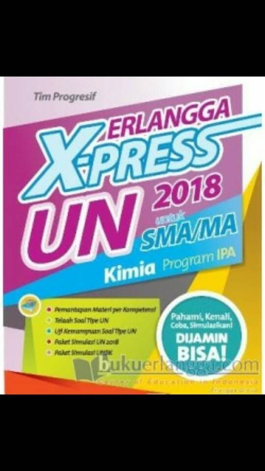 Foto Produk Terbaru Kumpulan Soal SMA ERLANGGA X-PRESS UN SMA/MA 2018 KIMIA dari langgeng shoppp