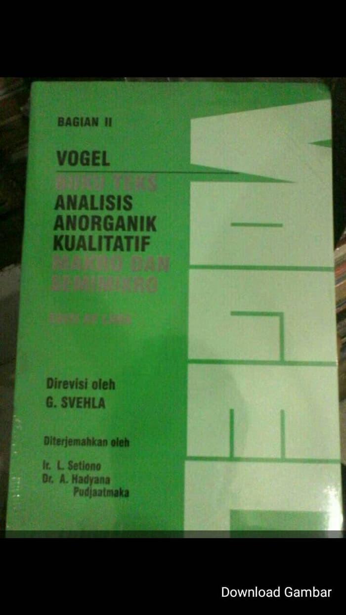 Jual Buku Farmasi VOGEL 1 SET 2 BUKU Jakarta Barat Michelle Stuffs