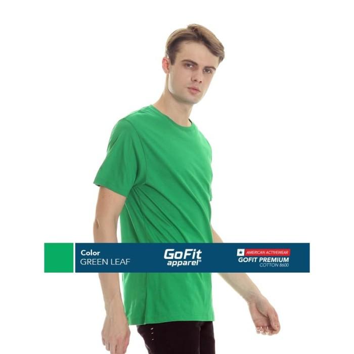 Foto Produk GoFit Premium Cotton 8600 GREEN LEAF size L dari Gofit Apparel