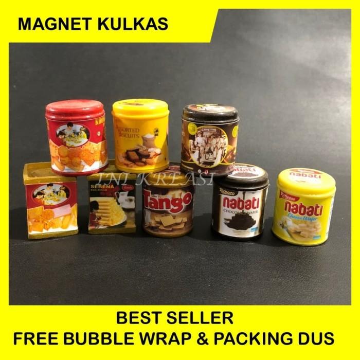 harga Magnet kulkas miniature kue kaleng Tokopedia.com