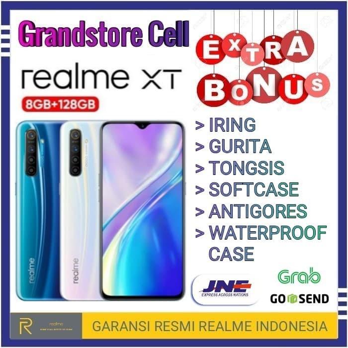 Foto Produk REALME XT RAM 8/128 GB GARANSI RESMI REALME INDONESIA - Putih dari Grandstore cell