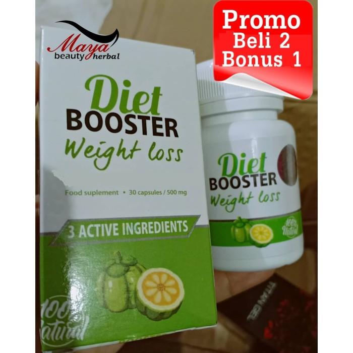 Foto Produk Obat Diet Booster Weight Loss Pelangsing Badan ( Stei Slim, Garcinia ) dari maya beauty herbal
