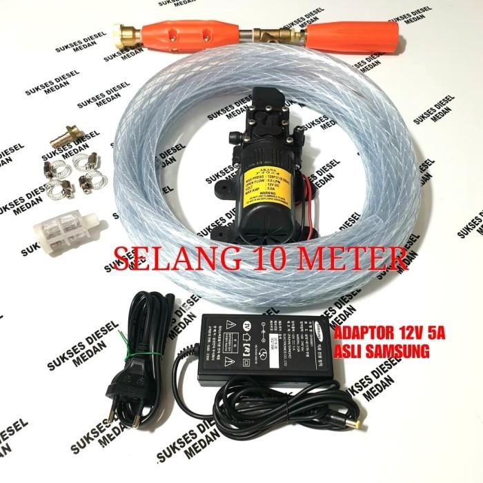 harga Pompa air cuci motor alat steam mobil ac tekanan tinggi doorsmeer tsl Tokopedia.com