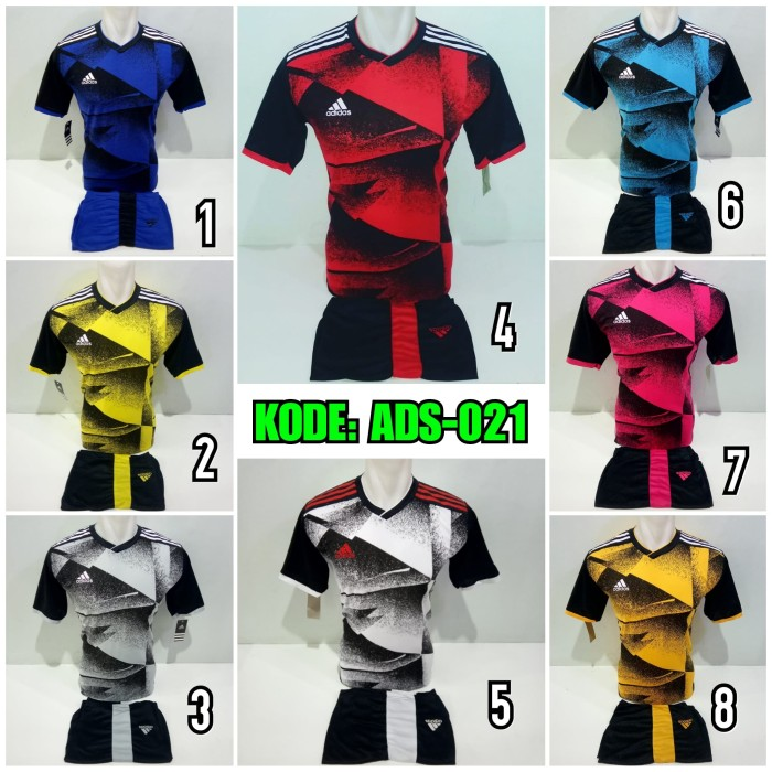 Jual Terbaru Ads 011 Baju Kaos Olahraga Jersey Bola Kostum Futsal Adidas Kab Pati Garuda Sports Tokopedia