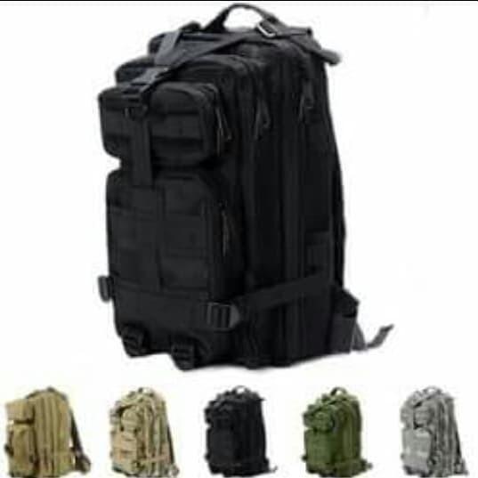 Foto Produk tas ransel army 3p tactical backpack ukuran sedang loreng camo dari BANDUNG ARMY COLLECTION