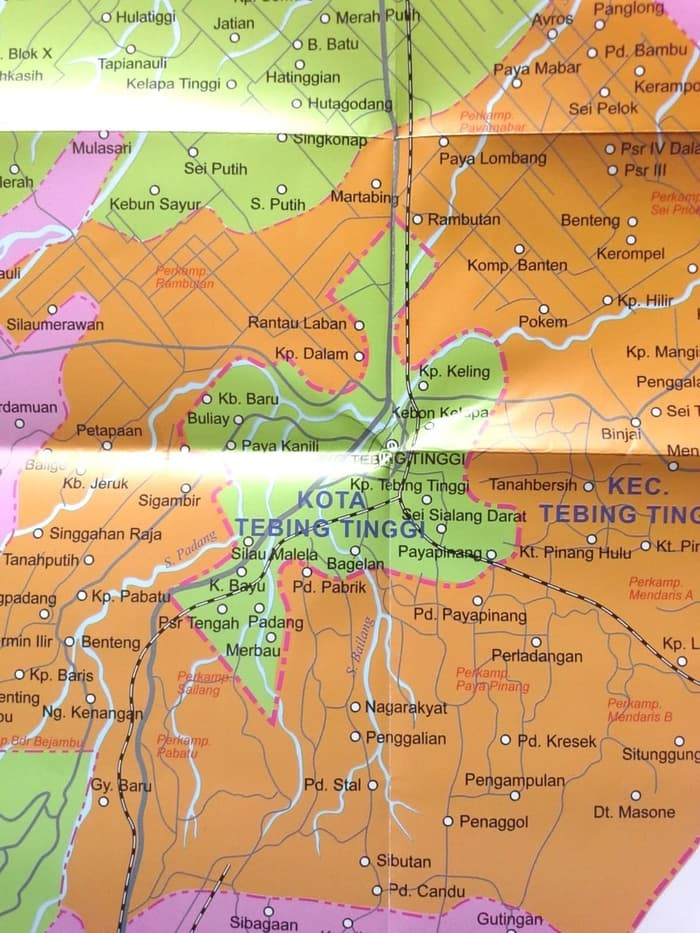 Jual Atlas Peta Kabupaten Serdang Bedagai Dan Kota Tebing Tinggi Jakarta Timur Ani Pradana Tokopedia