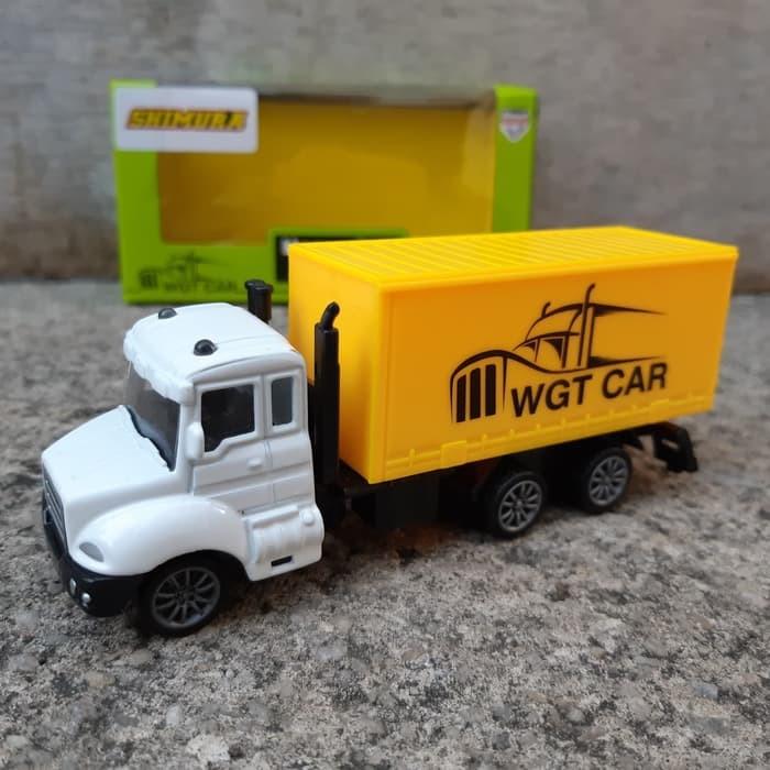 Jual Mainan Diecast Mobil Truck Kontainer Miniatur Truk Box Anak Edukatif Kota Bekasi Kedai Zazahra Tokopedia