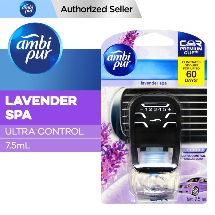 Foto Produk AmbiPur Car Lavender Spa Ultra Control 7.5ml dari P&G Official Store
